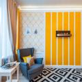 Как сочетать бои двух видов в одной комнате: 35 фото