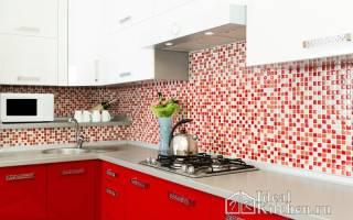 Как выбрать мозаику для кухни на фартук?