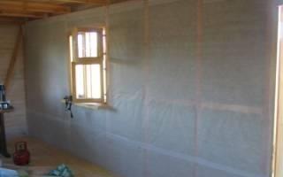Как сделать пароизоляцию стен своими руками