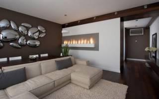 Идеи декора стен в гостиной с фото