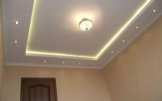 Как сделать потолок с подсветкой: выбор и основные правила монтажа
