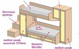 Как сделать двухъярусную кровать самостоятельно? (видео)