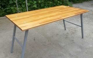 Складной столик своими руками: как сделать?