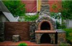 Строительство коптильни барбекю из камня