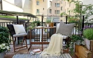 Идеи для оформления лоджии и балкона в стиле прованс