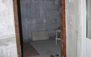 Согласование и особенности монтажа проема в несущей стене