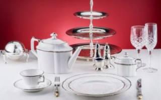 Фарфоровая посуда: в чем преимущества?