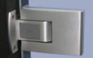 Петли для стеклянных дверей без сверления в сауну и для других случаев