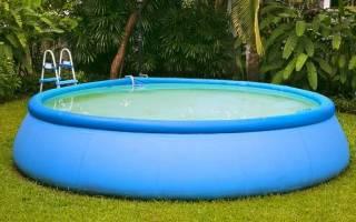 Выбираем надувной бассейн для дачи: на что обратить внимание?