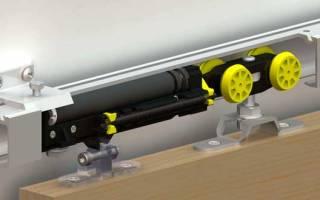 Механизм для раздвижных дверей – выбераем лучшую систему сдвижной межкомнатной двери