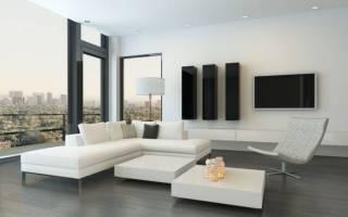 Красивая мебель в стиле минимализм