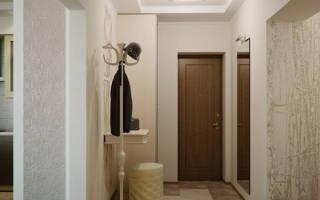 Дизайн потолков в прихожей: оформление из гипсокартона