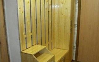 Шкаф в прихожую своими руками: мастер-класс по изготовлению шкафа