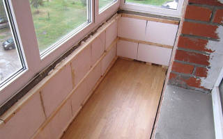 Как сделать пол на балконе своими руками: варианты материалов и этапы работы