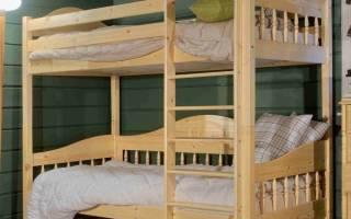Детская кровать своими руками: двухъярусная модель