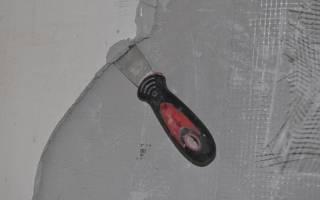 Как можно снять декоративную штукатурку со стен