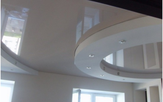 Как правильно сделать двухуровневые натяжные потолки
