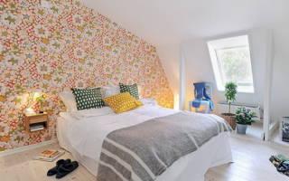 Какие обои выбрать для спальни (фото и видео)