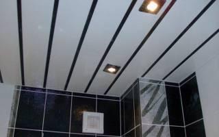 Как сделать потолок из панелей: основные этапы работы