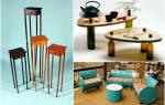 Мебель из доступных материалов