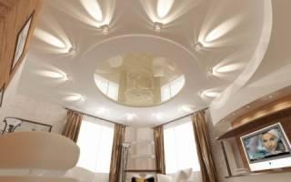 Потолок какой конструкции можно сделать в зале своими руками?