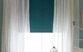 Оформление окон в спальне: шторы, ролеты, а может быть жалюзи?
