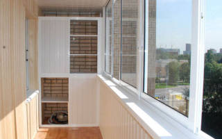 Варианты внутренней отделки балкона и лоджии