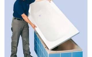 Отзывы покупателей об установке акриловой ванны
