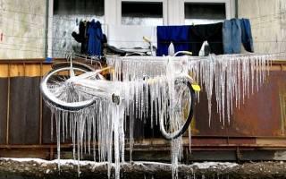 Правильное хранение техники зимой на балконе