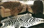 Шкуры животных в интерьере: варианты применения