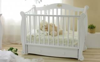 Какую детскую кроватку выбрать для новорожденного малыша?