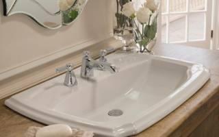 Необычные раковины в современной ванной комнате
