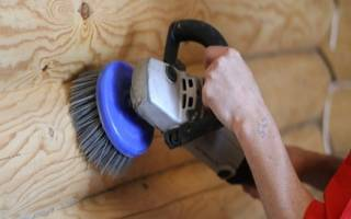 Как производится шлифовка дома из сруба своими руками