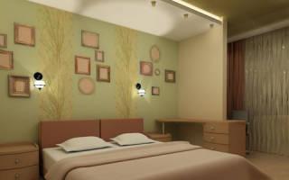 Отделка стен в спальне своими руками: отделка деревом, обоями, гипсокартоном (фото)