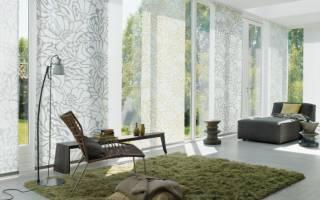 Японские шторы в интерьере 45 фото идей