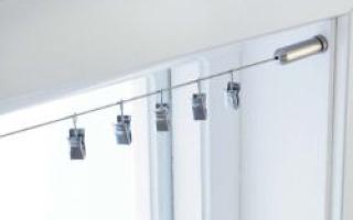 Карниз в форме струны для штор: как выбрать и натянуть