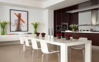 Современная мебель для вашей столовой