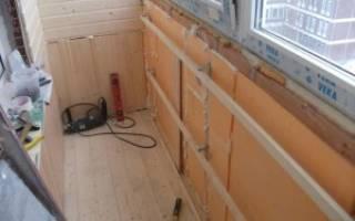 Качественный ремонт лоджии своими руками