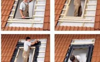 Окна в крыше