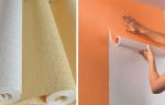 Рекомендации, как клеить виниловые обои на флизелиновой основе