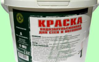 Использование поливинилацетатной водоэмульсионной краски