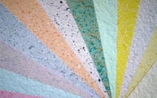 Жидкие обои на потолок: достоинства и технология нанесения