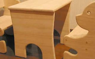 Детская игровая мебель своими руками: что необходимо учесть?
