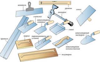 Декоративная отделка из шпаклевки: как сделать своими руками