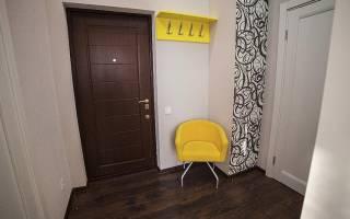 Дизайнерские варианты покраски стен в прихожей