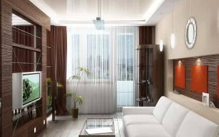 Дизайн штор для гостиной (зала) с балконом: классические, зеленые
