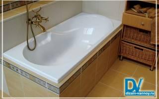 Самостоятельный монтаж ванной к стене