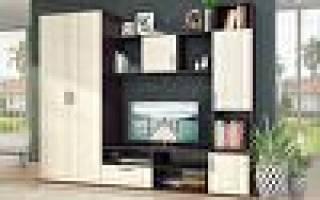 Современные мебельные стенки для гостиной