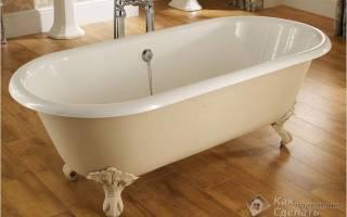 Как сделать ванну устойчивой