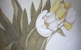 Необычные жидкие обои: 5 видов рисунков